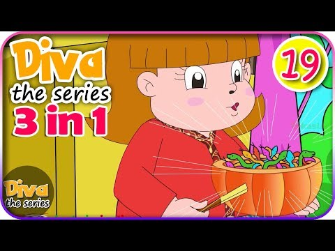 Seri Diva 3 in 1 | Kompilasi 3 Episode ~ Bagian 19 | Diva The Series Official