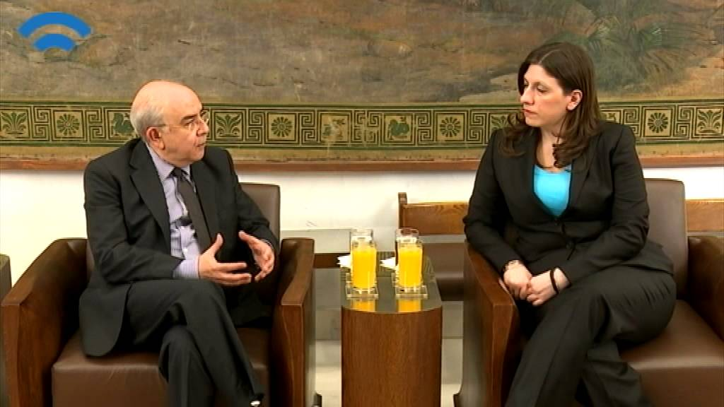 Συνάντηση της Προέδρου της Βουλής με τον Πρόεδρο της Κυπριακής Βουλής (23/06/2015)