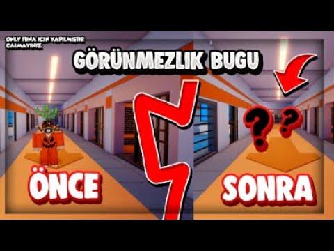 GÖRÜNMEZLİK BUGU!?!?! / Roblox Jailbreak / Türkçe