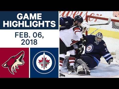 Video: NHL Game Highlights | Coyotes vs. Jets — Feb. 06, 2018