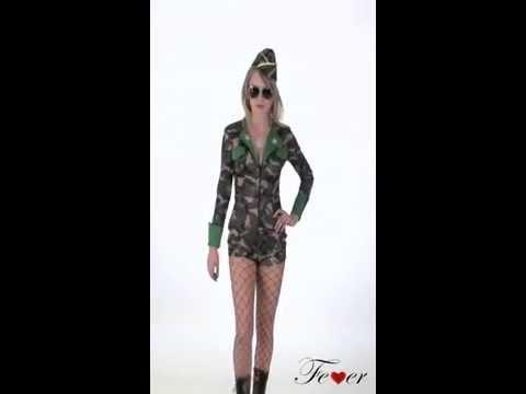 Déguisement Militaire sexy pour Femme
