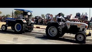 Eicher & new Holland tractor Tochan in kamana tochan competition