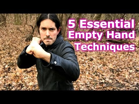 5 Kali Empty Hand Essentials Techniques You Need!