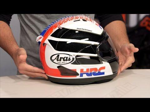Arai Corsair X HRC Helmet Review at RevZilla.com