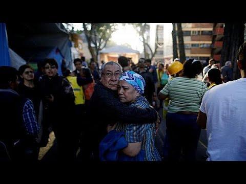 Σεισμός 7,5 Ρίχτερ στο Μεξικό – 100.000 άνθρωποι χωρίς ρεύμα