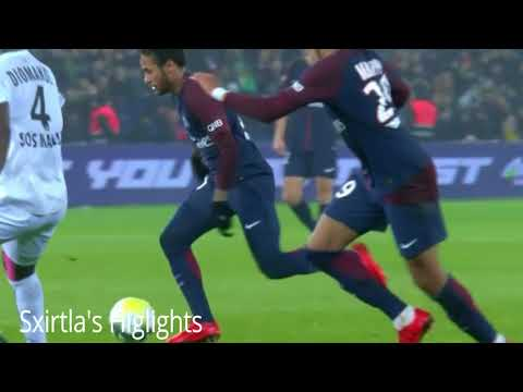 PSG VS Caen/All Goals/Highlights/20/12/2017(3-1)