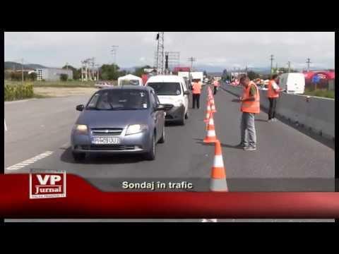 Sondaj in trafic