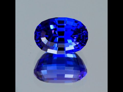 Exceptioanal 5.06 Carat Stepped Oval Tanzanite