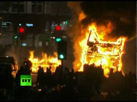 Disturbios no Reino Unido – Tottenham