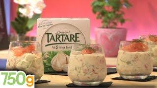Verrine Fraîcheur Saumon Fumé, Tartare Et Concombre