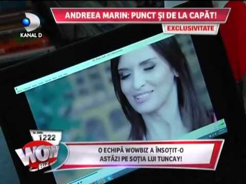 Andreea Marin, despre Alege demnitatea la WOWbiz - Kanal D, 30.10.2014