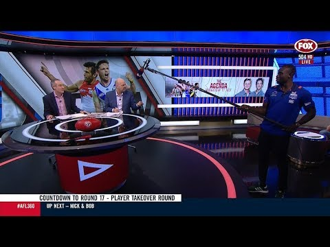 Majak Daw On AFL 360 - FOX (July 11, 2018)