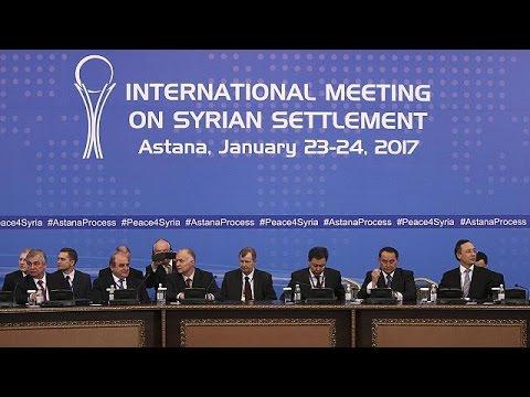 Χαμηλές προσδοκίες στις συνομιλίες για το συριακό στην Αστάνα