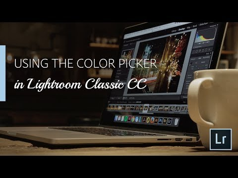 Using the Color Picker in Lightroom Classic