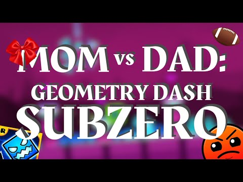 MOM VS DAD GD SUBZERO Geometry Dash Juniper
