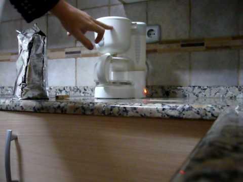 Como se hace cafe en cafetera con filtro