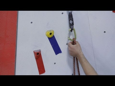 How to Clip on Lead for Indoor Climbing | Rock Climbing