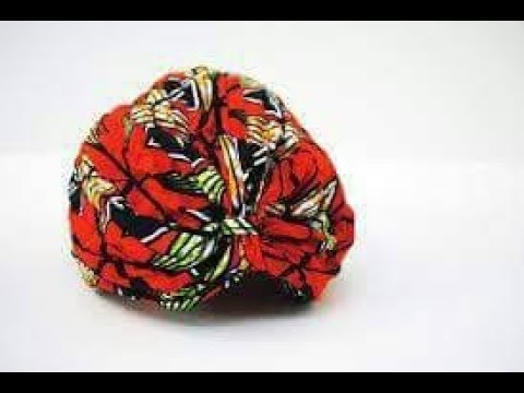 How To Sew An Ankara Turban Cap - Step By Step