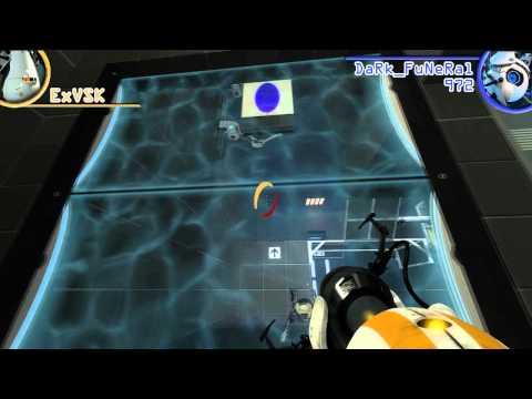 Portal 2 Coop - Chapitre 2 - ExVSK & DaRk_FuNeRaL