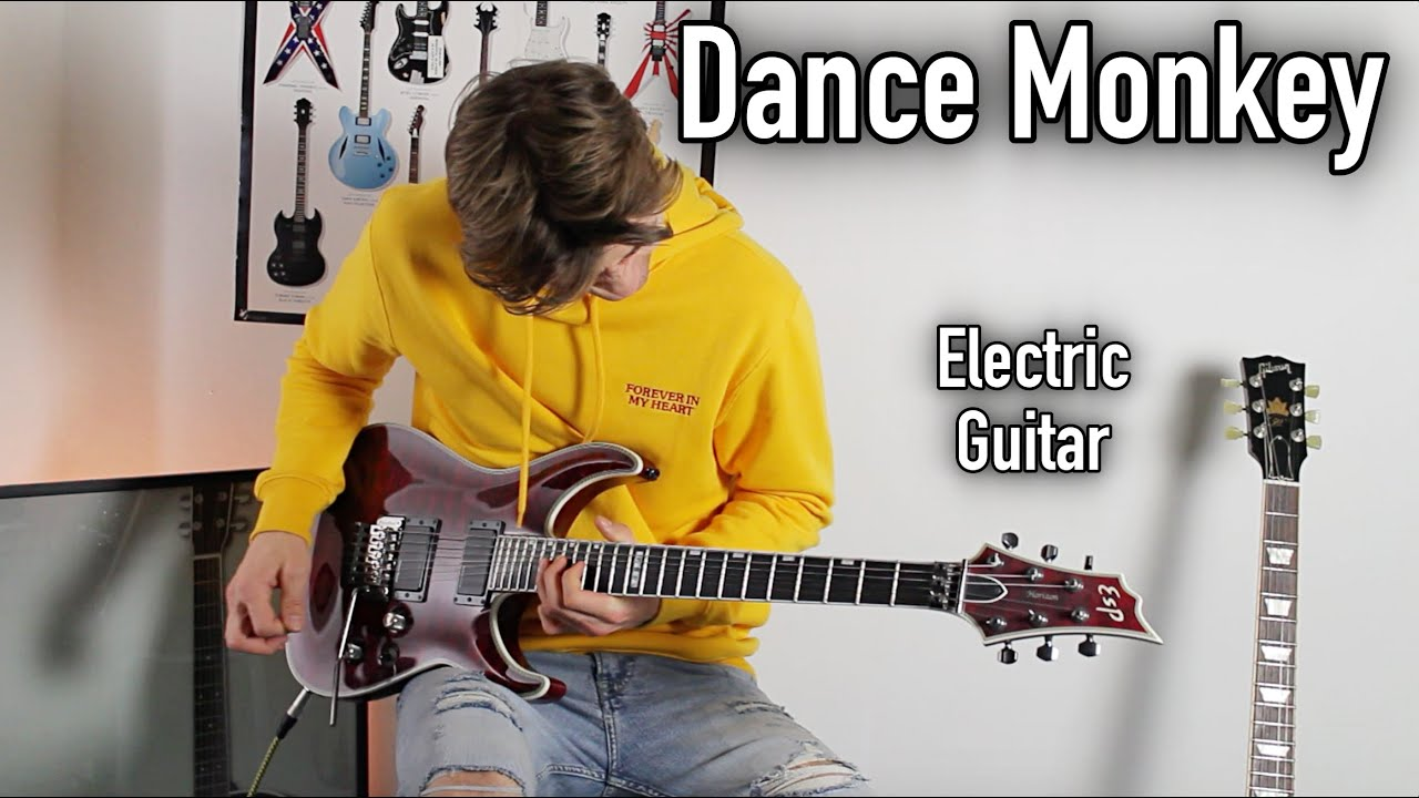 TONES AND I – DANCE MONKEY – ELECTRIC GUITAR COVER