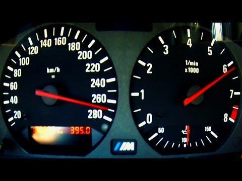 bmw m3 e36: rombo + accelerazione 0-270 km/h!