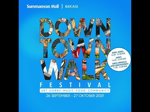 The Downtown Walk Festival 2019 #DTWFest19