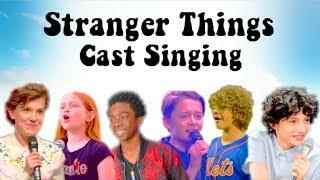 Video STRANGER THINGS KIDS SINGING COMPILATION! MP3, 3GP, MP4, WEBM, AVI, FLV Maret 2018