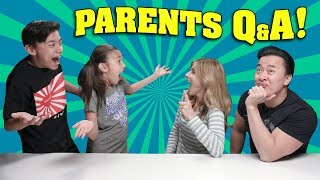 PARENTS Q&A!!! Your Questions Answered FINALLY! - New Year's Eve Special!