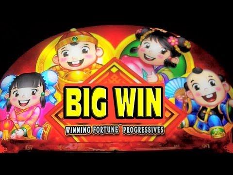 Winning Fortune Progressives – MEGA BIG WIN – New Slot Machine Bonus + Retriggers