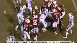 Kenny Tate vs Duke and ECU (2010)