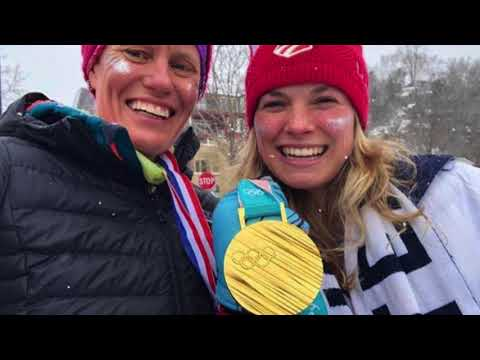 Ted Leroux's 1-on-1 with Olympic Gold Medalist Jessie Diggins (видео)