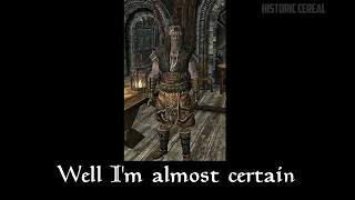 Galmar Stone-Fist has got to get that crown man. So he checks some local Skyrim pawnshops to see if they have it first.