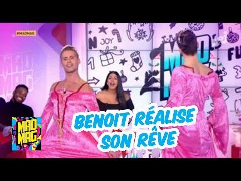😉 BONUS Le Mad Mag : Benoit réalise son rêve grâce à Ayem