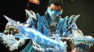 """Injustice 2 Sub-Zero All Gear Sets DLC Gameplay Walkthrough includes a Review of the First DLC Character """"Sub-Zero"""" in Injustice 2 Single Player Campaign for PS4 Pro, Xbox One X and PC. This Full Game Injustice 2 Gameplay Walkthrough includes a Review, all Campaign Chapters, all Cutscenes, all Super Moves, All Character Stories Chapters, Multiverse, Brother Eye Vault, Diamond Mother Box and More until the Ending of the Single Player by theRadBrad. Subscribe: http://www.youtube.com/subscription_center?add_user=theRadBradTwitter: http://twitter.com//thaRadBradFacebook: http://www.facebook.com/theRadBradInjustice 2 Characters include: Aquaman, Atrocitus, Bane, Batman, Black Canary, Blue Beetle, Brainiac, Catwoman, Captain Cold, Cheetah, Cyborg, Darkseid, Deadshot, Dr. Fate, Flash, Firestorm, Gorilla Grodd, Green Lantern, Green Arrow, Harley Quinn, The Joker, Poison Ivy, Robin, Scarecrow, Supergirl, Superman, Sub-Zero, Swamp Thing, Spawn and Wonder Woman.Injustice 2 is a fighting video game being developed by NetherRealm Studios and published by Warner Bros. Interactive Entertainment. It is the sequel to 2013's Injustice: Gods Among Us. Injustice 2 is available for PlayStation 4 and Xbox One. Similar to the previous installment, a companion mobile app was released for iOS and Android devices.Since the Justice League's Superman had defeated the One Earth Regime's High Councillor Superman, Batman and his Insurgency have been working to piece back together the world. This hasn't been easy as they had to deal with the remnants of the Regime, a new villain group called """"The Society,"""" and the arrival of Brainiac."""