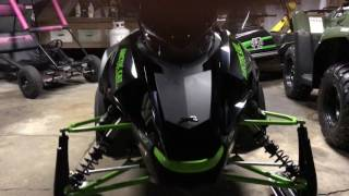 10. 2017 Arctic Cat ZR 9000 LIMITED