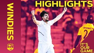 Holder Remains But Windies Rocked By Sharma 5-42 | Windies vs India 1st Test Day 2 2019 - Highlights