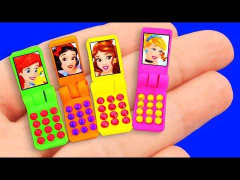 5-minute Barbie Hacks : Barbie phone, Washing Machine, and more