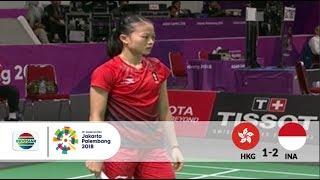 Video HKG v INA – Badminton Beregu Putri - Full Highlight Partai Ketiga - Tunggal Putri | Asian Games 2018 MP3, 3GP, MP4, WEBM, AVI, FLV Agustus 2018