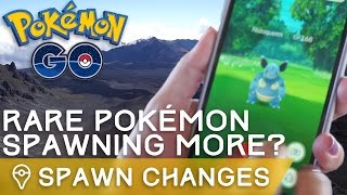 NIANTIC INCREASED RARE POKÉMON SPAWNS IN POKÉMON GO by Trainer Tips