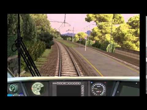 Open BVE: Quanto pendola l'ETR-485 in transito a Sori!