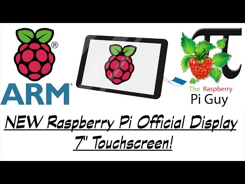 NEW Raspberry Pi Official Display - 7