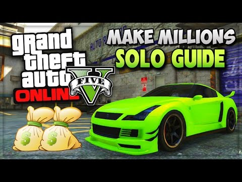 """GTA 5 SOLO Unlimited Money Missions! """"How To Make Money Fast"""" In GTA 5 Online (GTA V Gameplay)"""