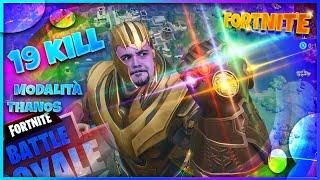 Fortnite : 19 kill nella modalità con Thanos