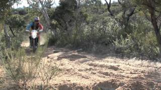 2. 2011 Husqvarna TE511 in action