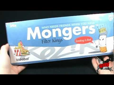 Artase - On today's Spot, we'll be having a look at the Kidrobot Mongers Filter Kings Collectible Art Case The Review Spot's Music provided by http://www.royalty-free...