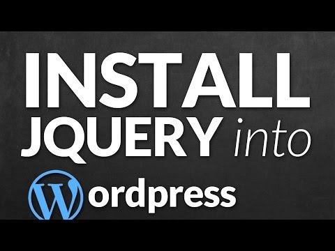 Install jQuery Plugin into WordPress Theme