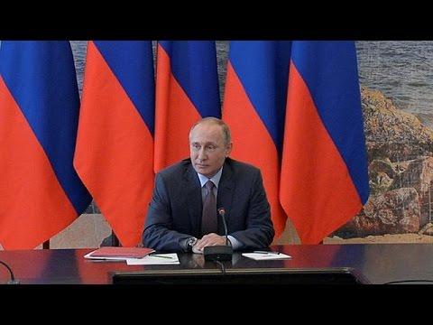 Росія-Україна: президент Путін в Криму