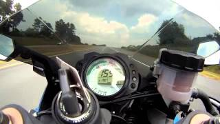 10. 2008 Zx10R Top Speed