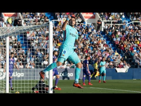 Leganes vs Barcelona 0-3 18/11/2017 match highlights HD English commentary