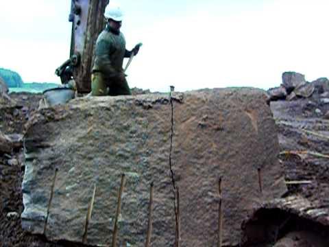 wydobycie piaskowca